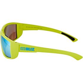 Bliz Drift Okulary, zielony/niebieski